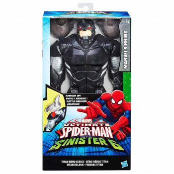 Spider-Man titanski heroj Rhino 30 cm