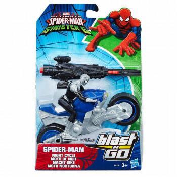 Spider-Man heroj z vozilom Blast N