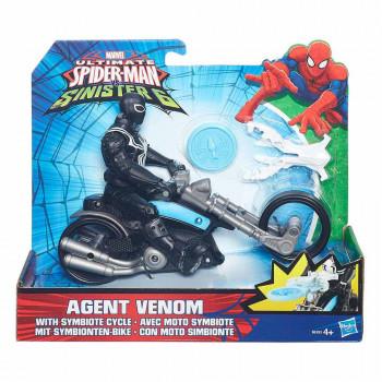 Spider-Man figura in motorno kolo 15cm