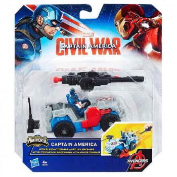 Avengers heroj z vozilom Stotnik Amerika
