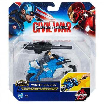 Avengers heroj z vozilom Winter Soldier