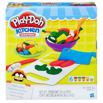 Play-Doh kuhinja: oblikuj in razreži