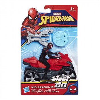 Spider-Man Kid Arachind z motorjem