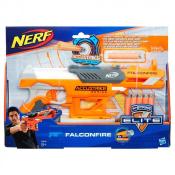 Nerf Accustrike Falconfire metalec