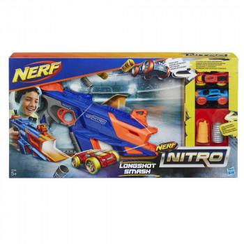 Nerf Nitro Longshot smash udar