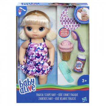 Baby Alive punčka s čarobnim kornetom