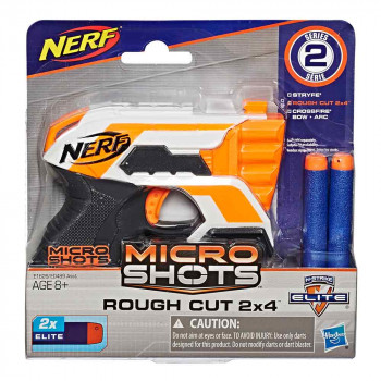 Nerf Micro Shots Rough Cut 2x4 metalec