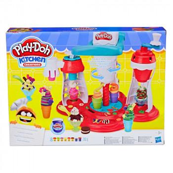 Play-Doh kuhinja izdelovalec sladoleda