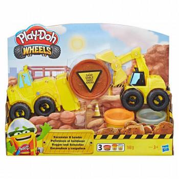 Play-Doh Wheels set gradbenih vozil