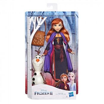 Frozen 2 lutka Anna z zgodbo in dodatki