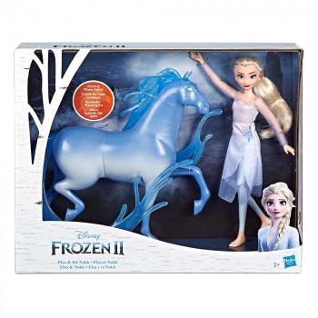 Frozen 2 lutka Elza in konj Nokk