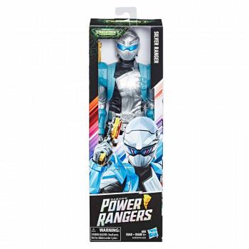 Power Rangers figura Srebrn Ranger 30cm