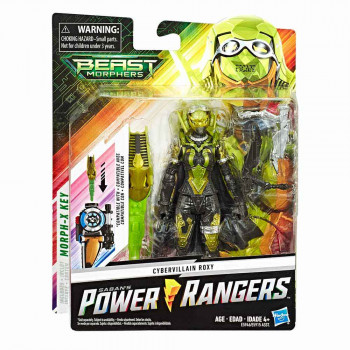 Power Rangers Cybervillain Roxy Morph-X