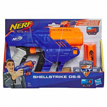 Nerf Elite Shellstrike DS6 ročni metalec