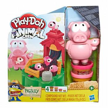 Play-Doh živali set zabavni prašički