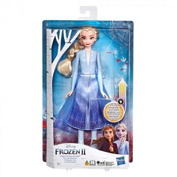 Frozen 2 svetleča modna lutka Elza