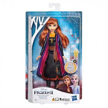 Frozen 2 svetleča modna lutka Anna