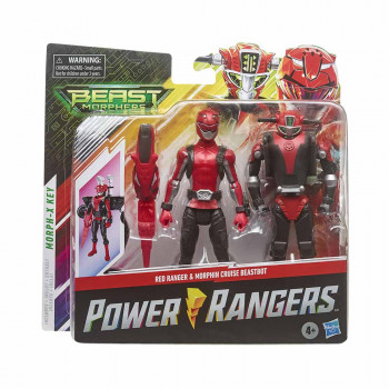 Power Rangers Beastbot set Rdeč Ranger