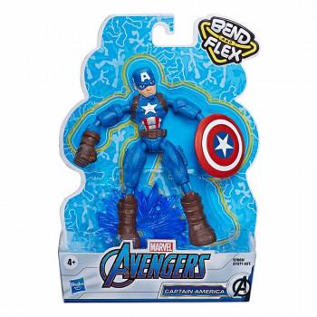 Avengers Bend&Flex Stotnik Amerika 15cm