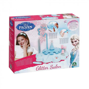 Frozen glitter salon