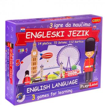 Engleski za djecu edukativna igra HR