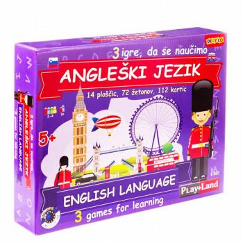 Angleščina za otroke poučna igra
