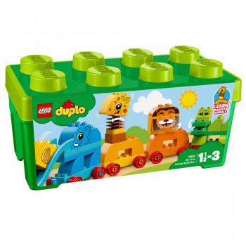 LEGO Duplo Moja prva škatla kock živali