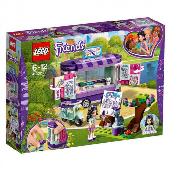 LEGO Friends Emmina umetniška stojnica