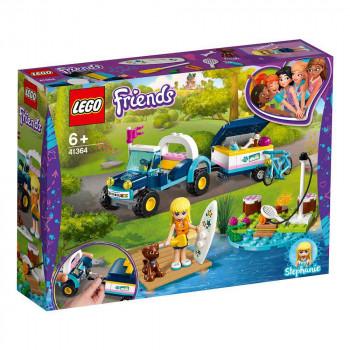 LEGO Stephaniejina bagi in prikolica