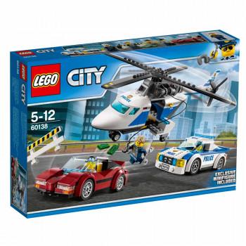 LEGO City Police Hitro zasledovanje
