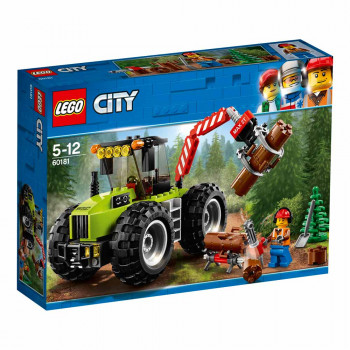 LEGO City Great Vehicles Gozdni traktor