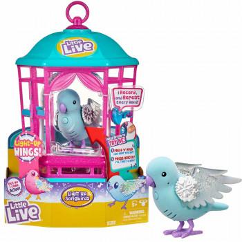 Little Live Lil Birds ptiček set kletka