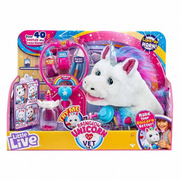 Little Live Rainglow veterinarski set