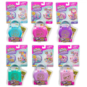 Shopkins male skrivnosti igralni set