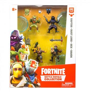Fortnite set 4 figur z dodatki