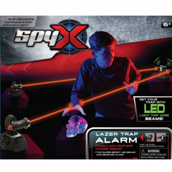 Spy X vohunski laserska past z alarmom