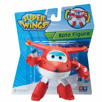 Super Wings roto figura Jett