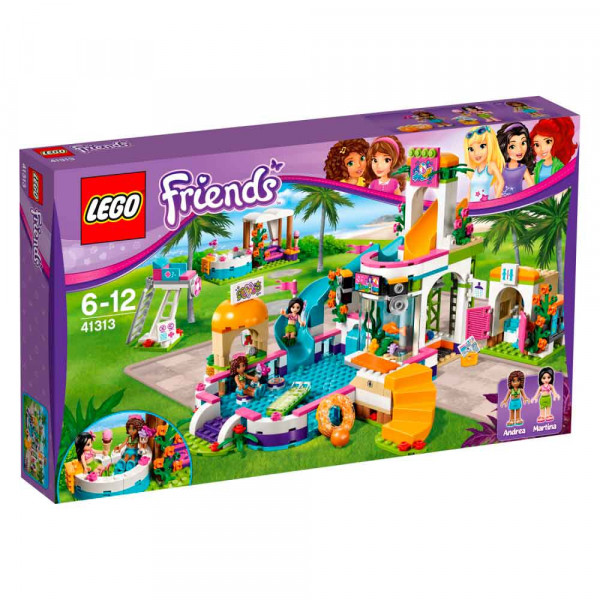 LEGO Friends Poletni bazen v Heartlaku