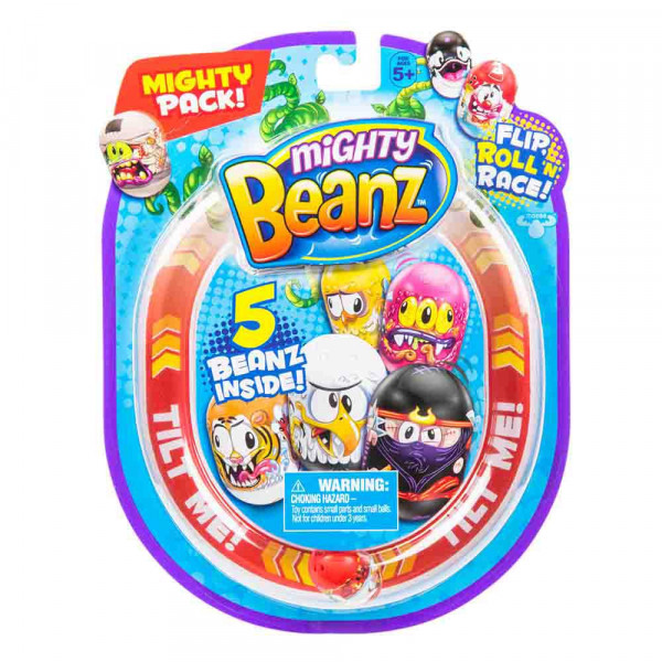 Mighty Beanz veliko pakiranje 5 figuric